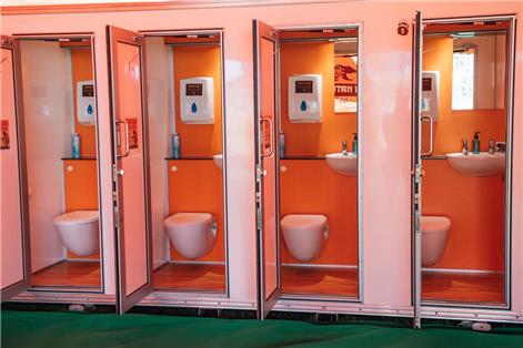 When Nature Calls | Luxury Festival Toilets